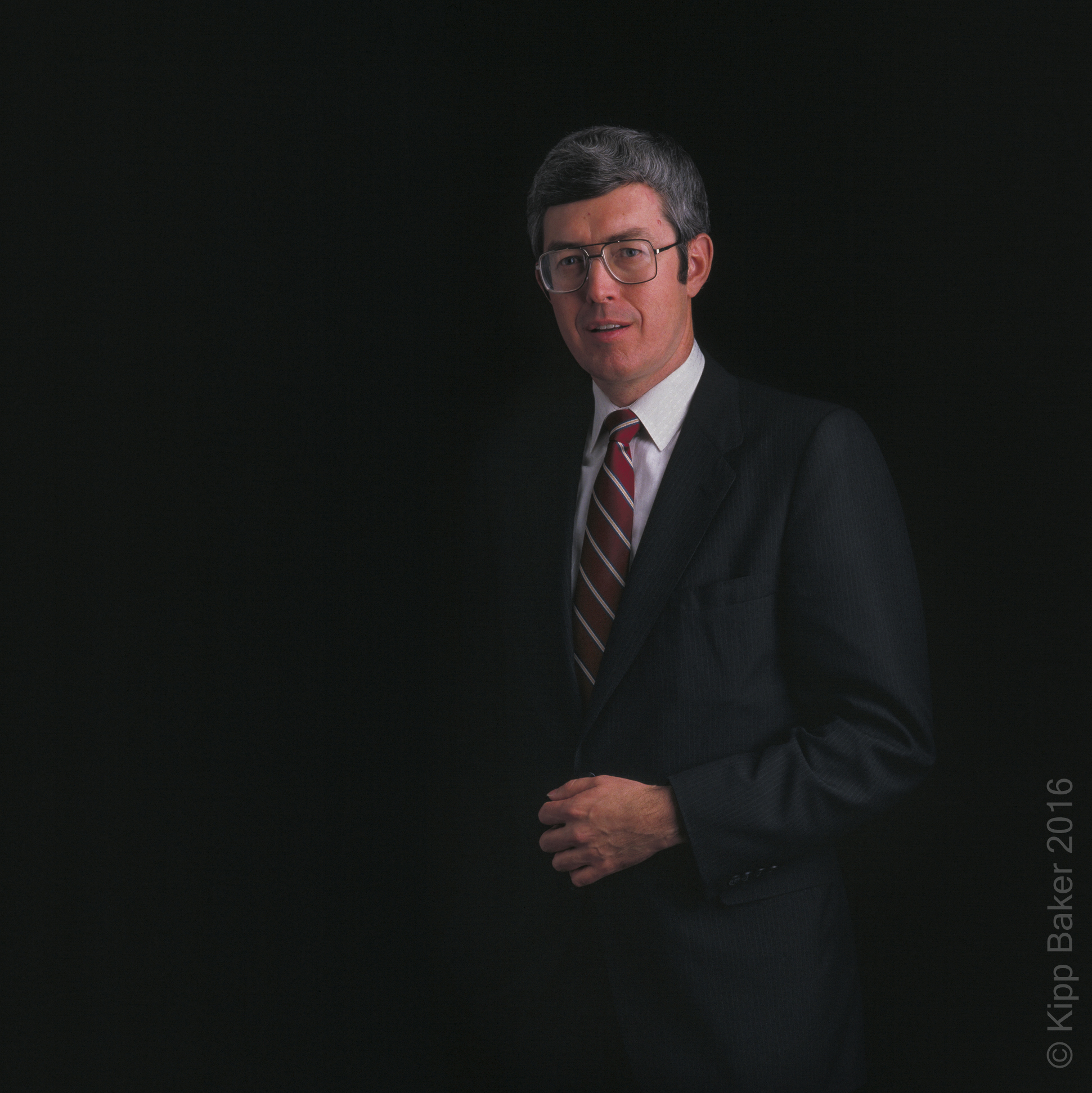 Executive portrait for annual report Copyright © Kipp Baker, All rights reserved.