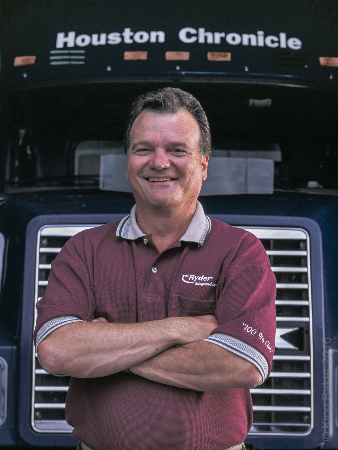Manager, Ryder Logistics Copyright © Kipp Baker, All rights reserved
