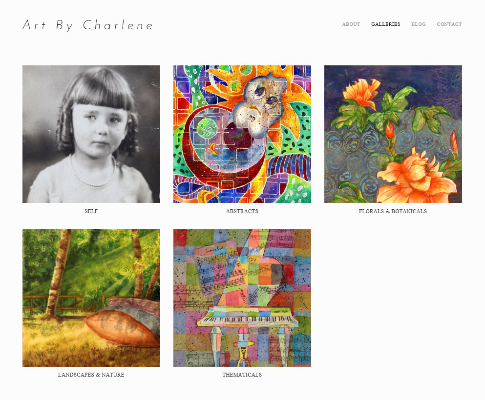 Art By Charlene home page