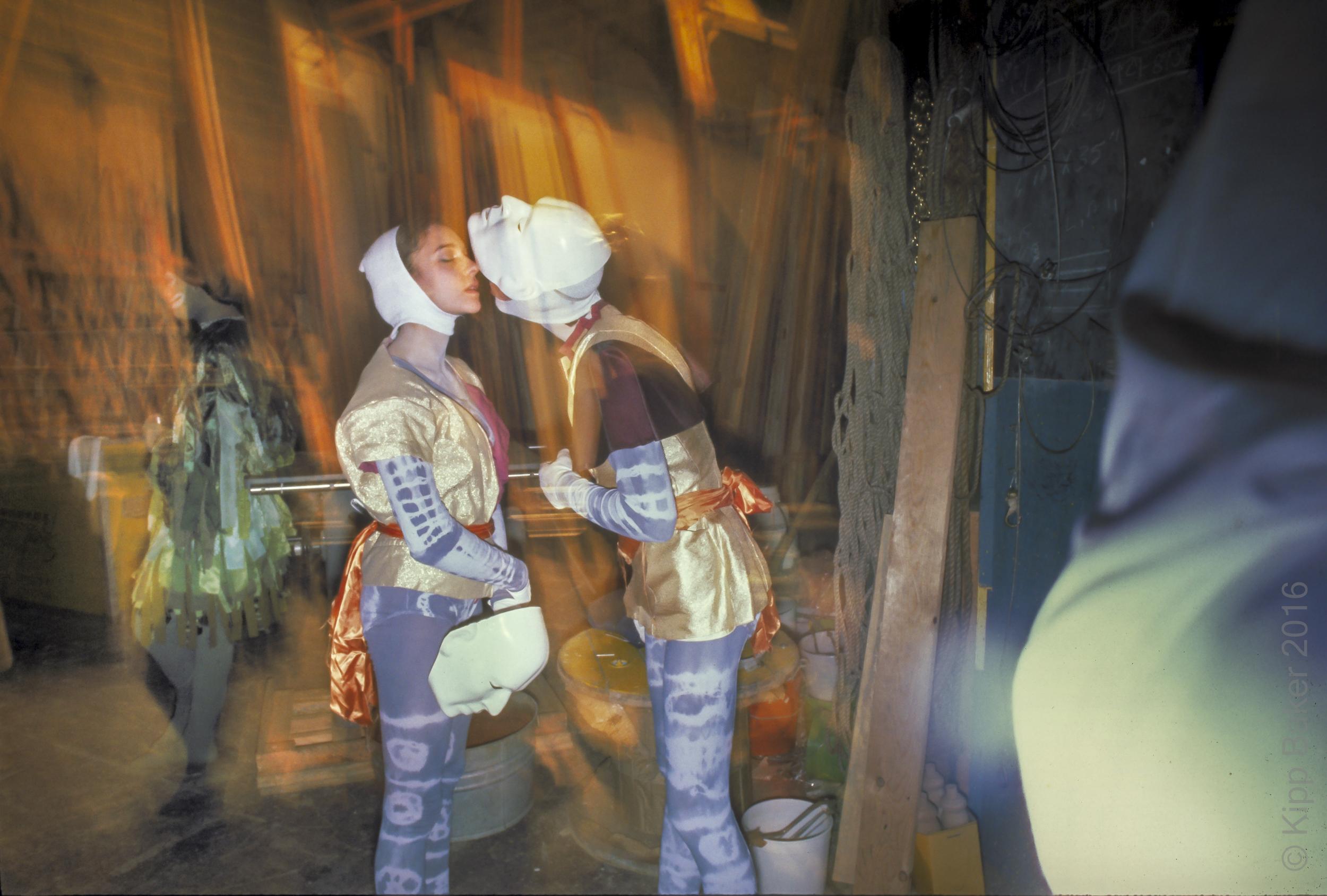 Backstage, E.W. Scott Theater, 1978