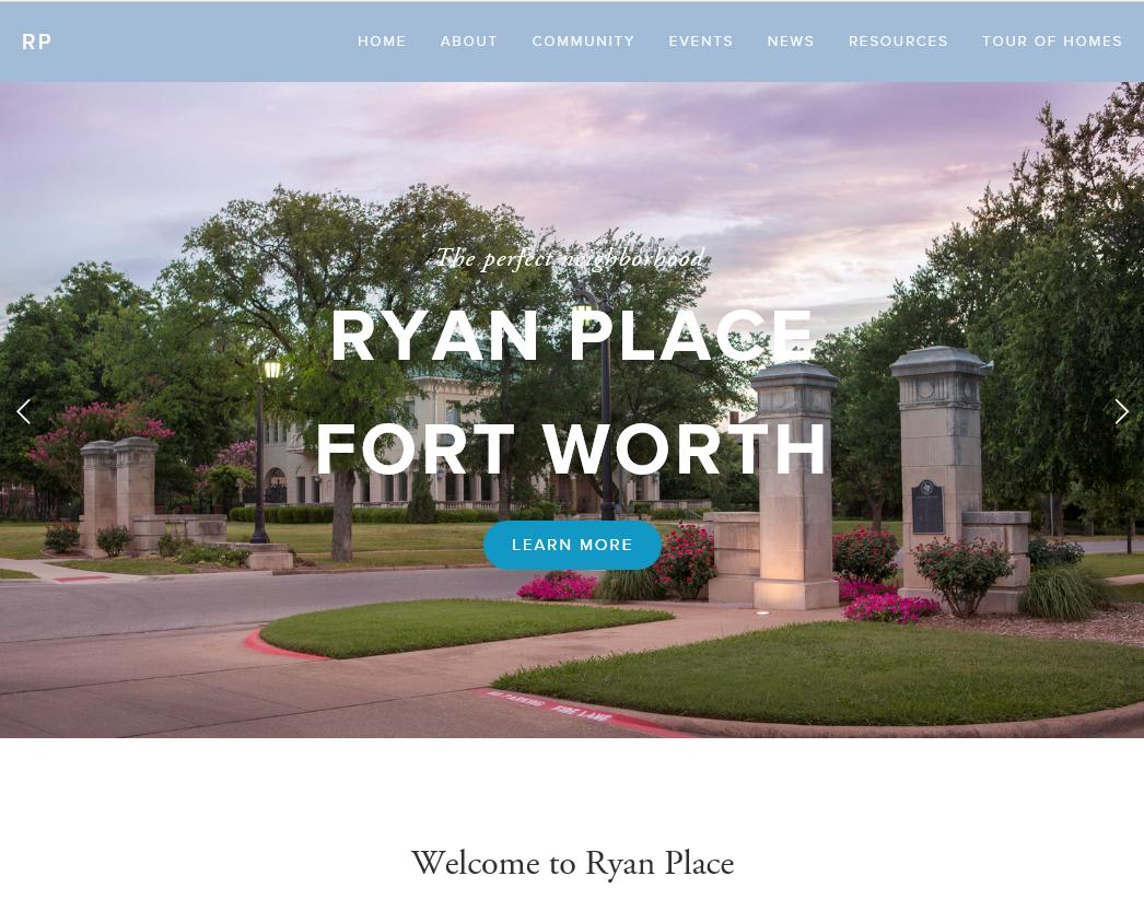 Ryan Place Neighborhood, Fort Worth, Texas