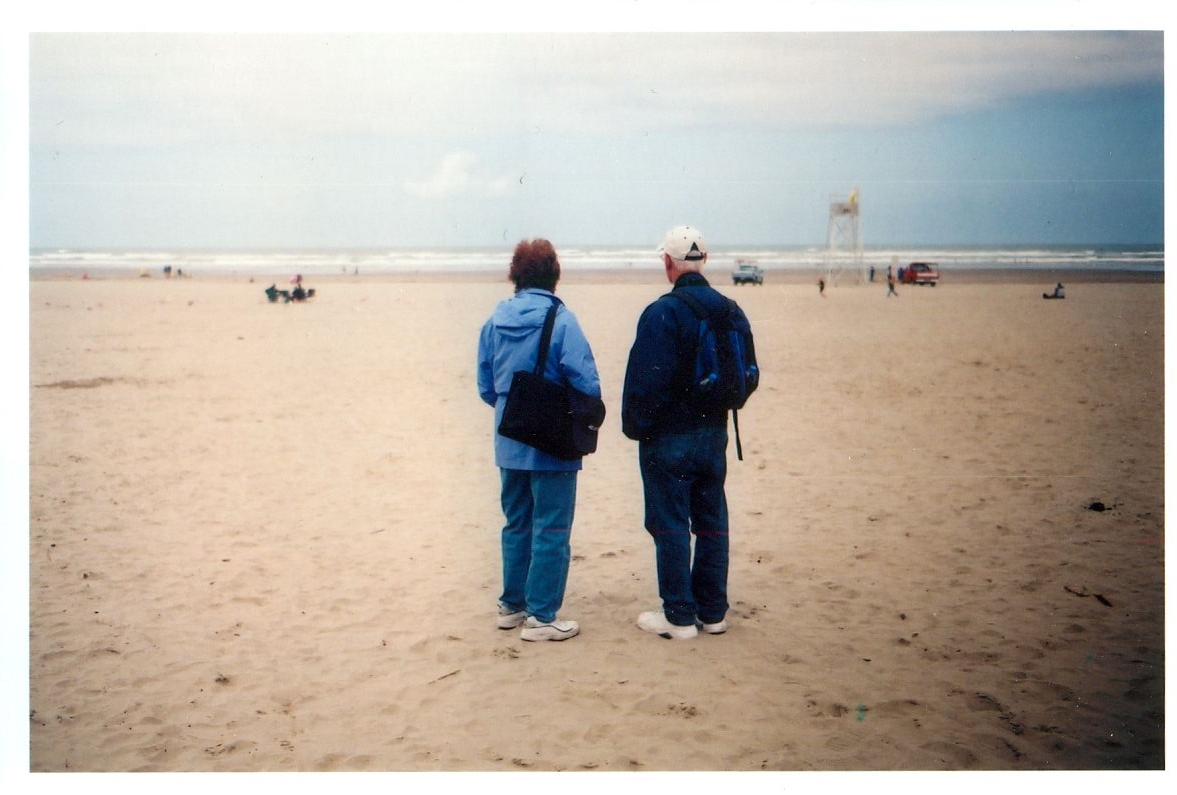 mom and dad, the OR coast, 2011