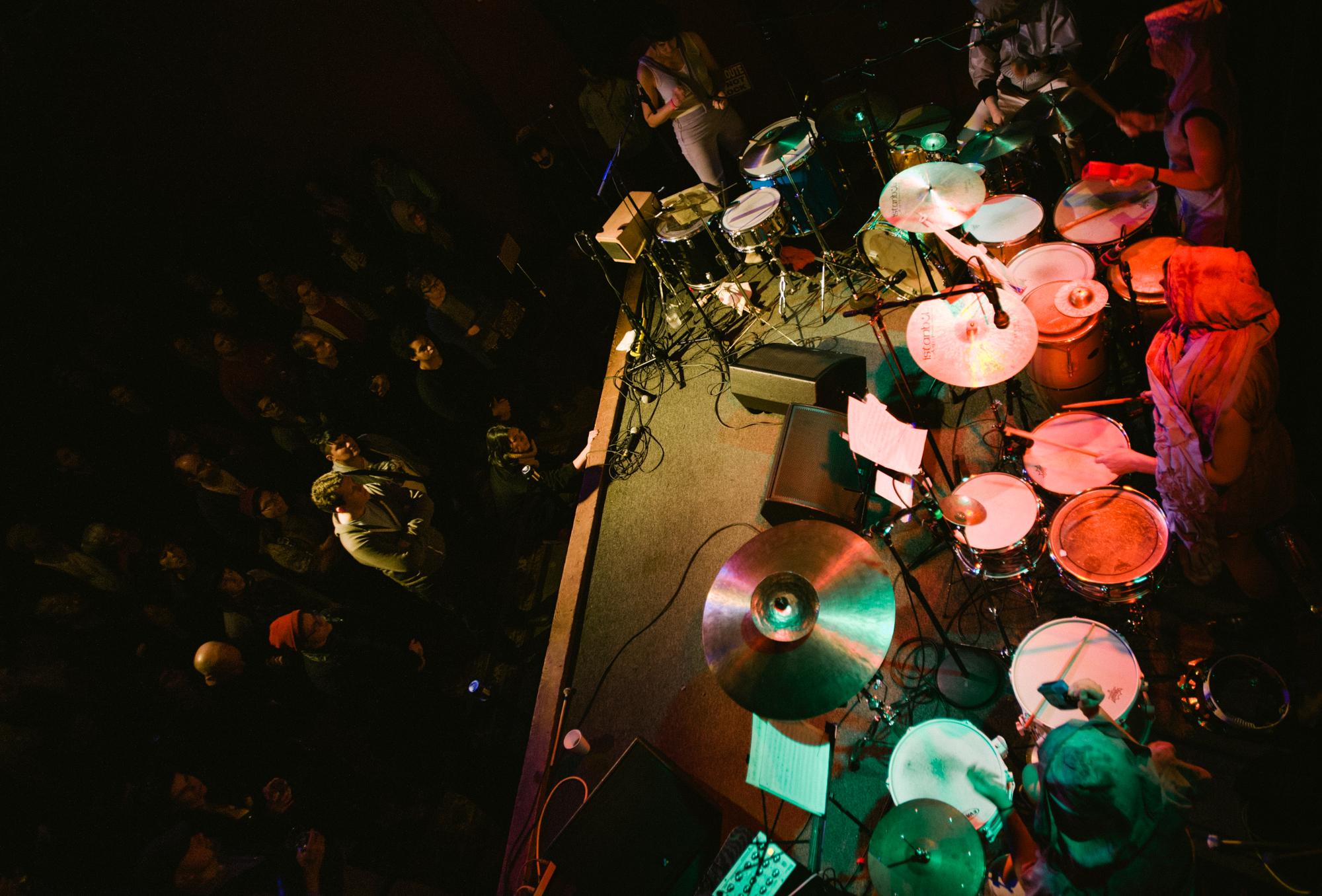 Secret Drum Band at Mississippi Studios, Portland. photo: MARTIN EVANS