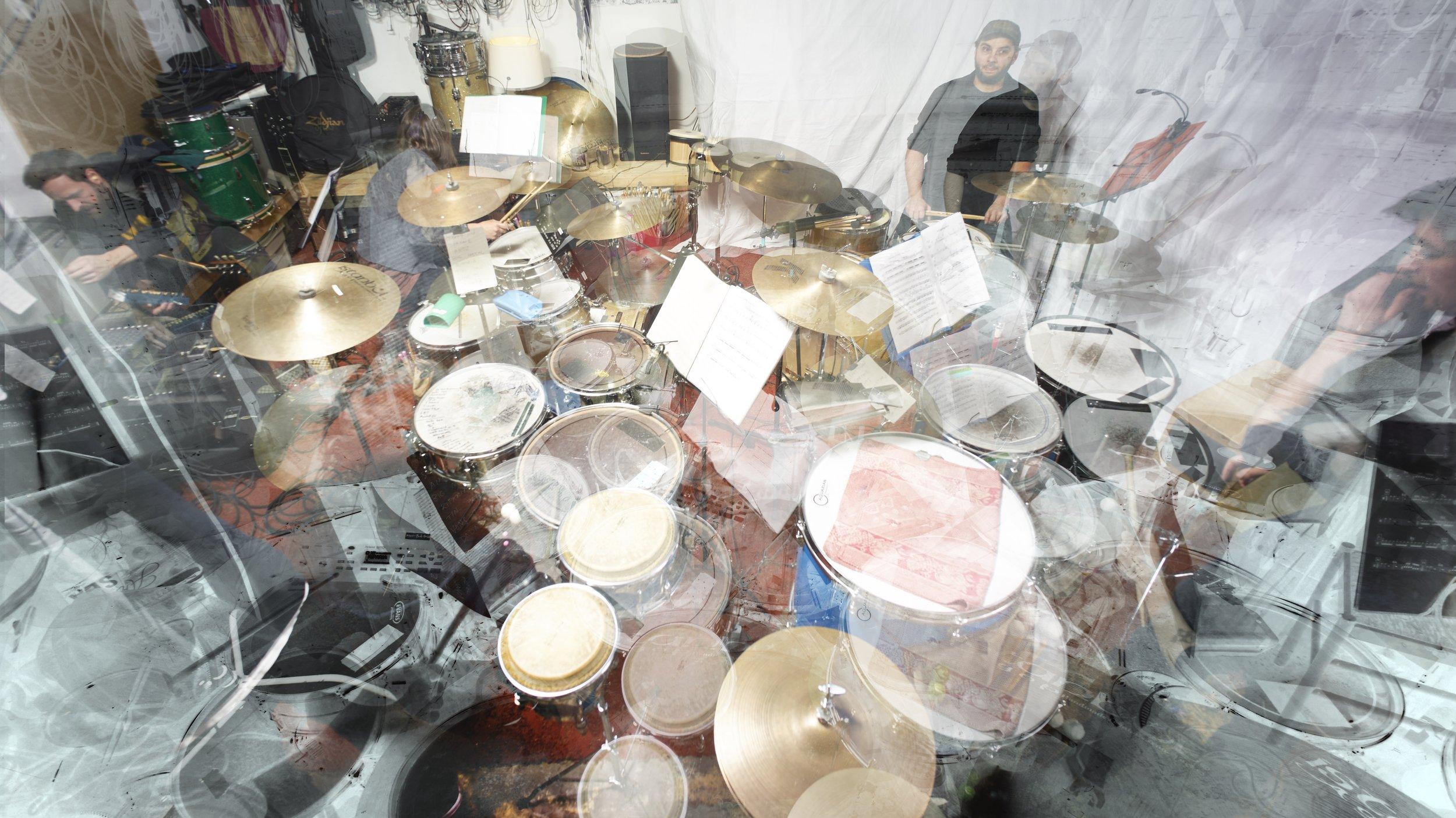 secret drum band (photo: marcus fischer)