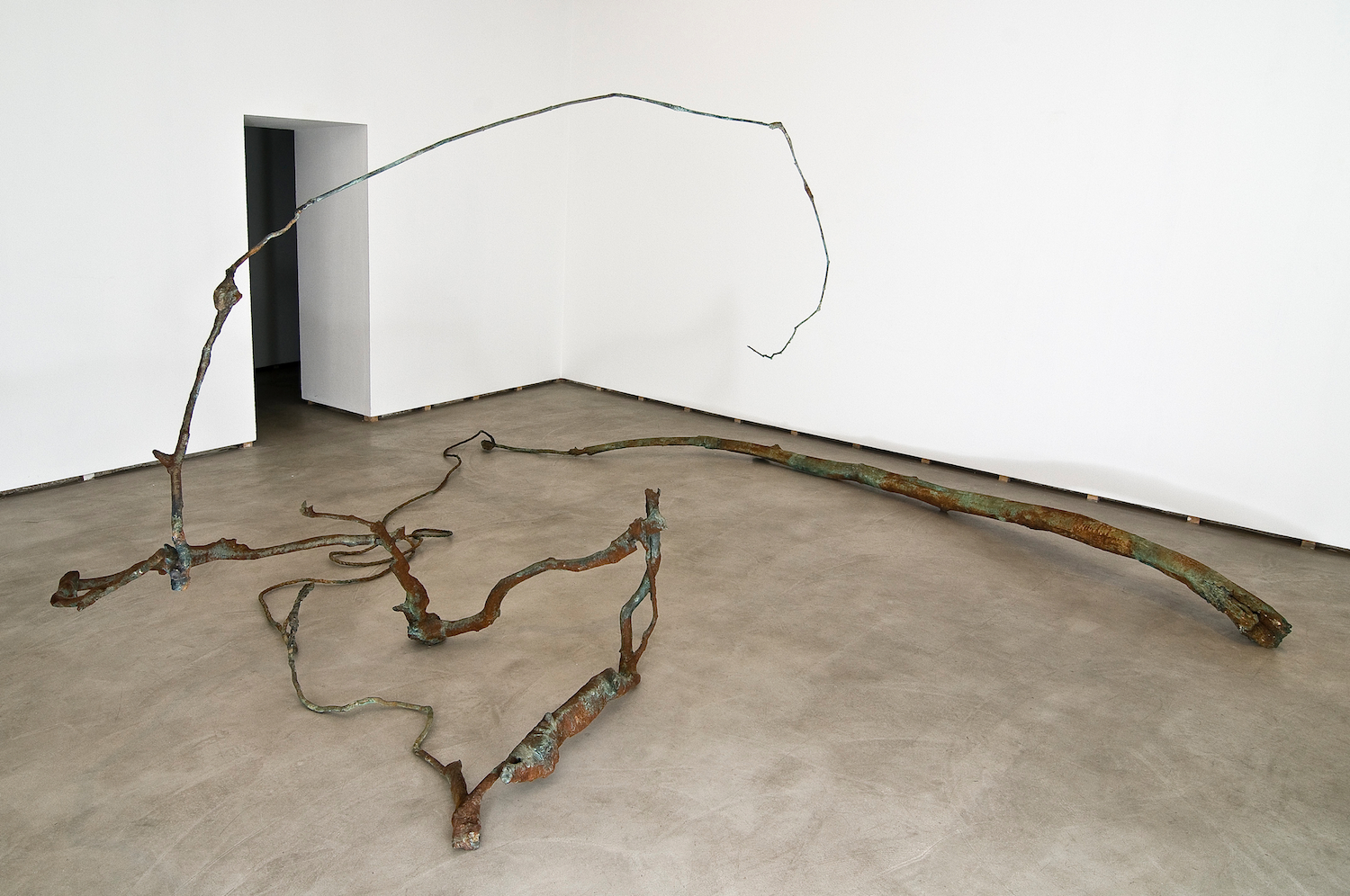 Jay Heikes  The Material Mine  2011 Federica Schiavo Gallery, Rome Installation view