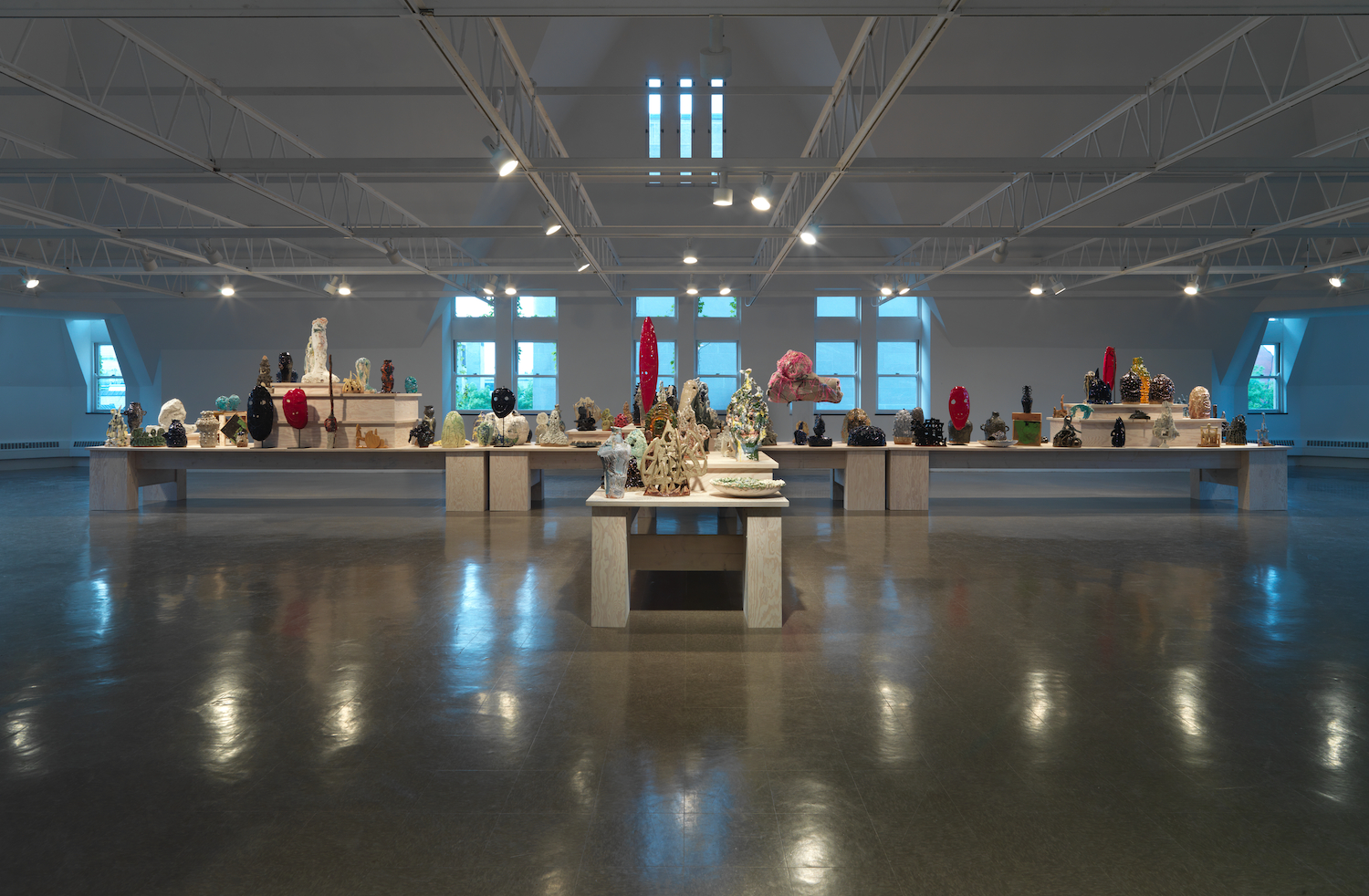 William J. O'Brien 2011 The Renaissance Society, Chicago Installation View