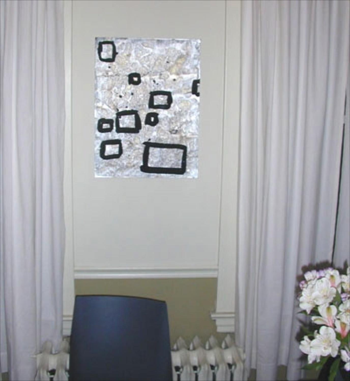 Rebecca Morris 2001 Installation View