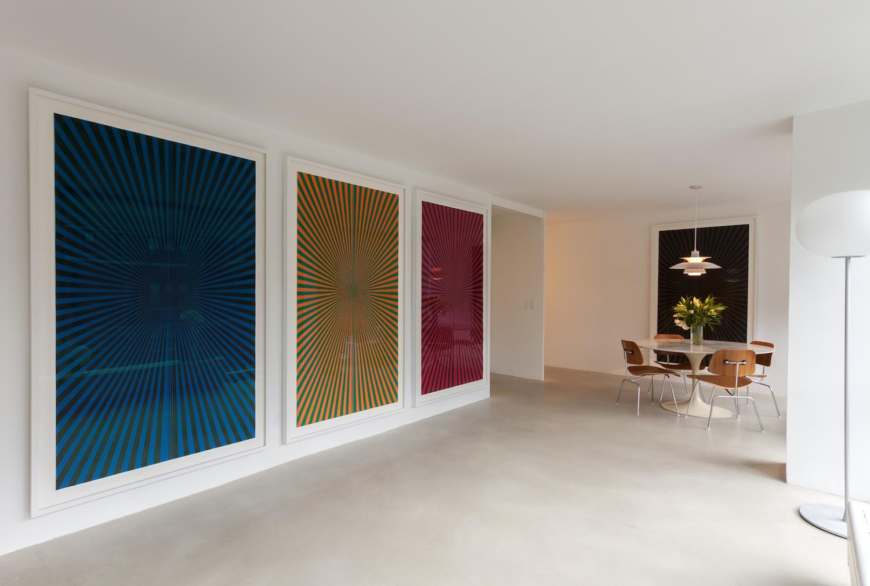 Mark Grotjahn 2013 Shane Campbell Gallery, Lincoln Park Installation View