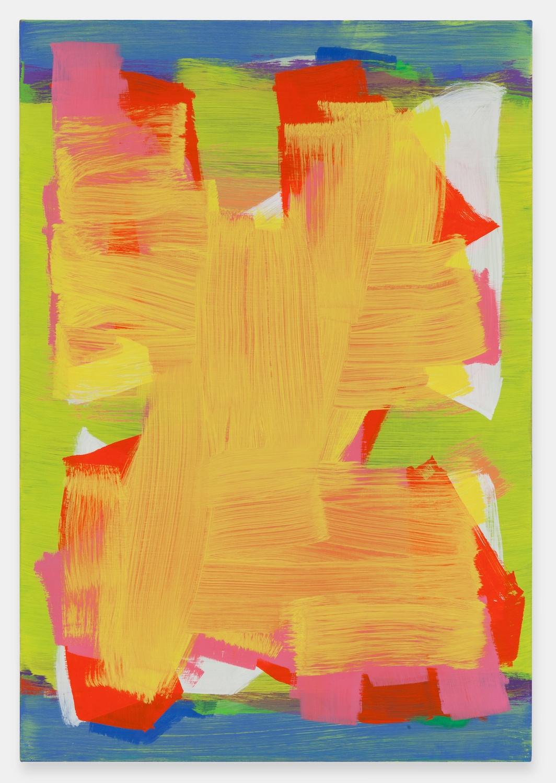 Jon Pestoni  Butter  2012 Oil on canvas 45h x 31w in JP126