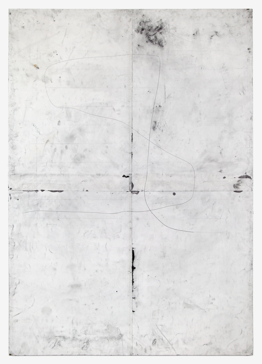 Tony Lewis  --------  2012 Pencil and graphite powder on paper 84h x 60w in TL010