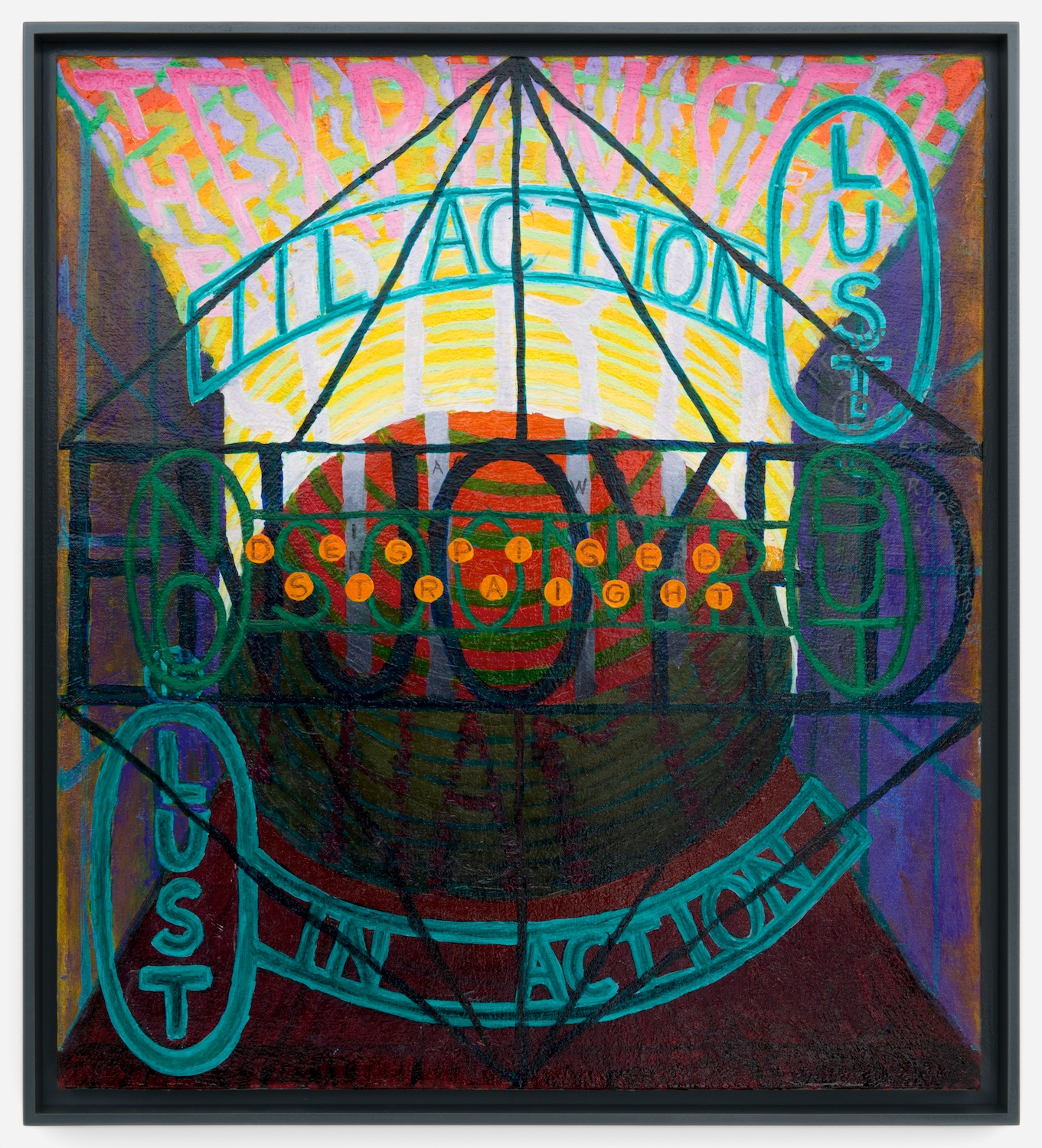 Philip Hanson  The expense of spirit (Shakespeare)  2012 Oil on canvas 20h x 18w in PHan002