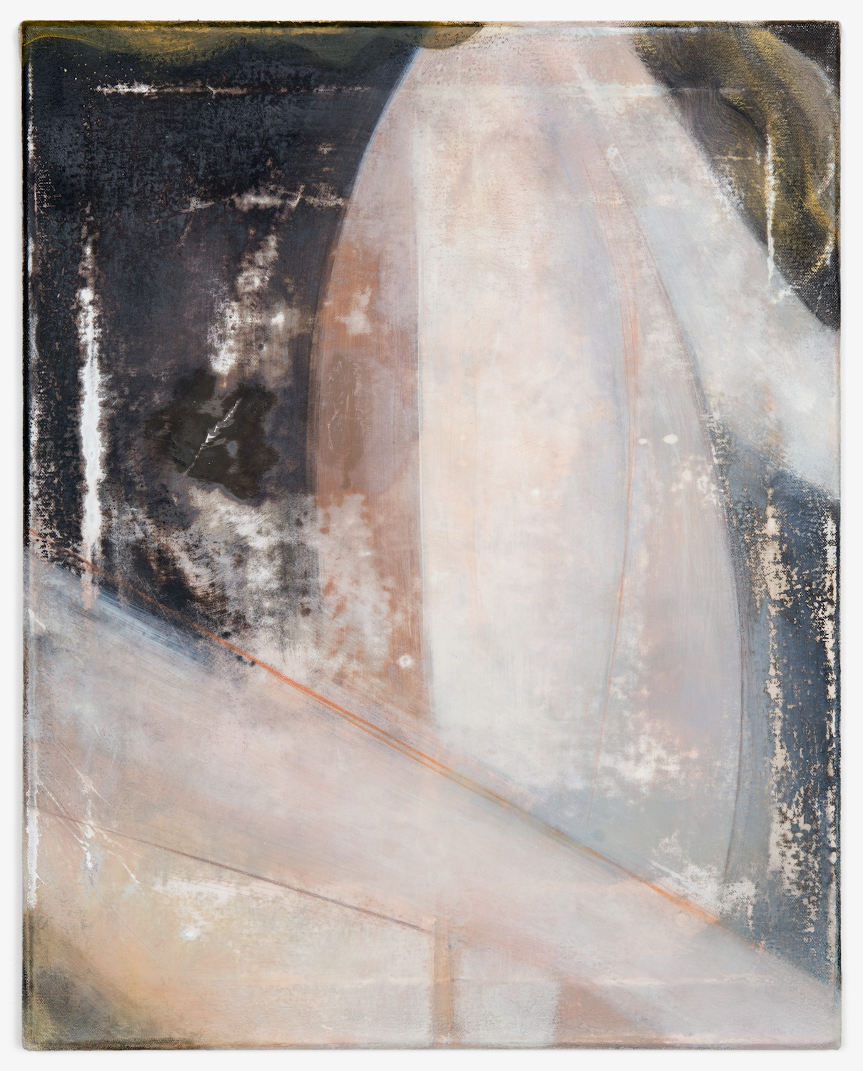 Lily Ludlow  Hermoine  2012 Acrylic, graphite, and gesso on canvas 20h x 16w in LL008