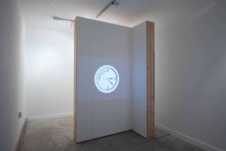 Brendan Fowler, Mark Leckey 2012 Shane Campbell Gallery, Oak Park Installation View