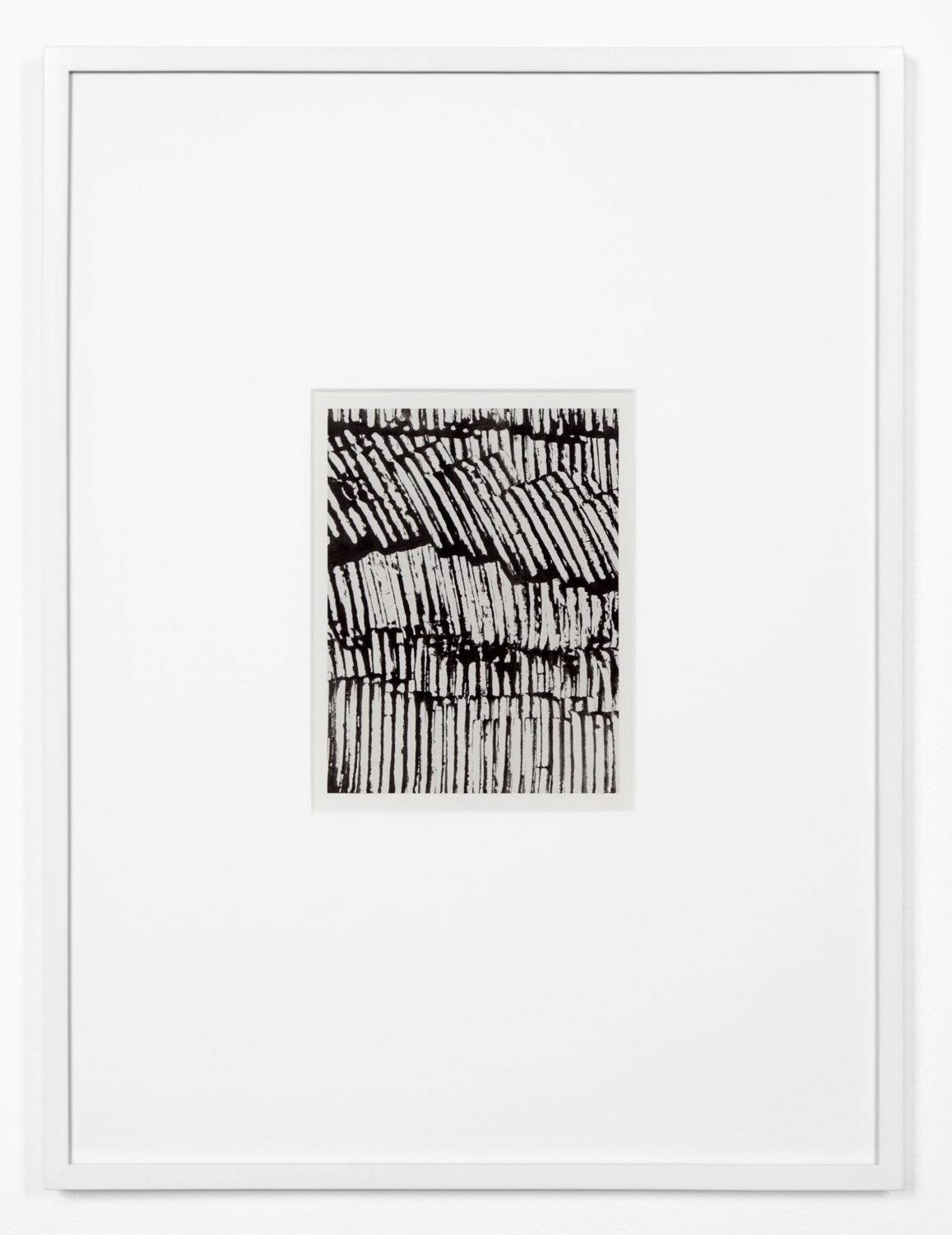 Anthony Pearson  Untitled (Solarization)  2012 Framed solarized silver gelatin photograph 17h x 12 ¾w x 1d in AP316
