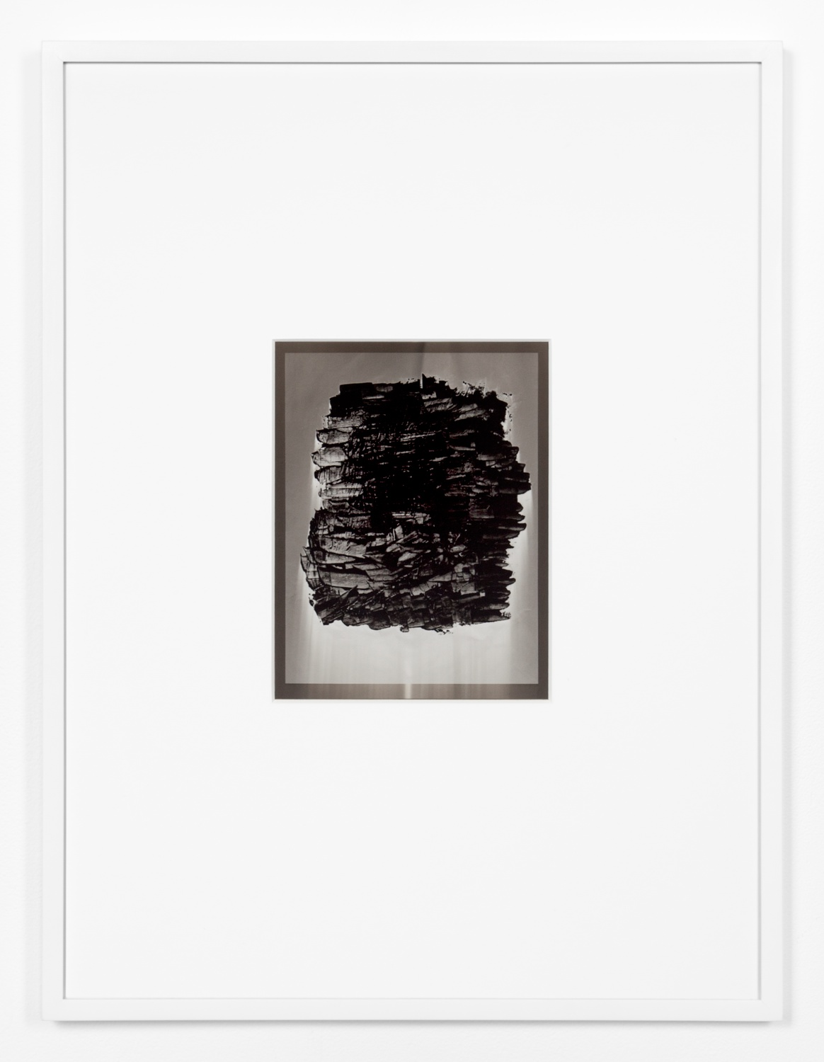 Anthony Pearson  Untitled (Solarization)  2012 Framed solarized silver gelatin photograph 17h x 12 ¾w x 1d in AP317