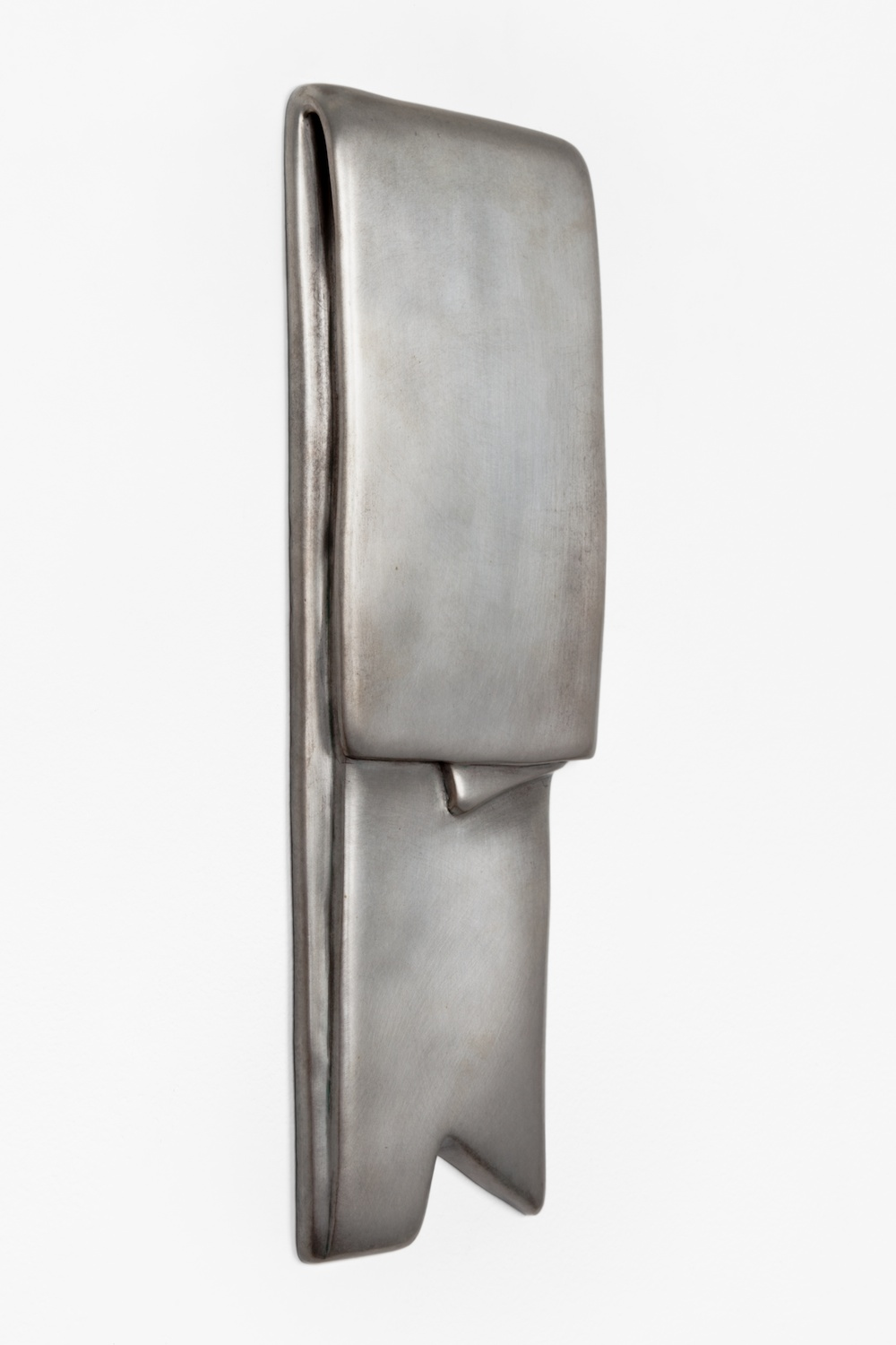 Anthony Pearson  Untitled (Tablet)  2012 Bronze relief with silver nitrate patina 15h x 6w in AP320