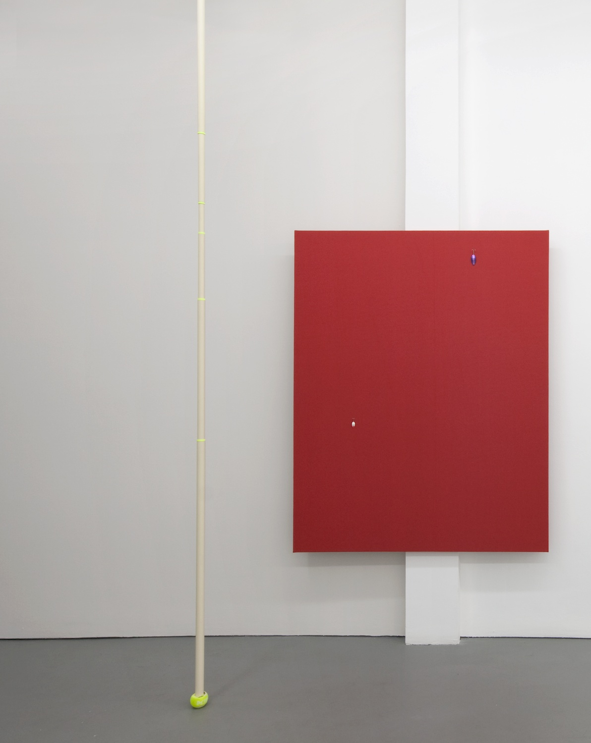 Paul Cowan  Untitled  2012 Bergamot oil in latex paint on wall Dimensions variable PC014