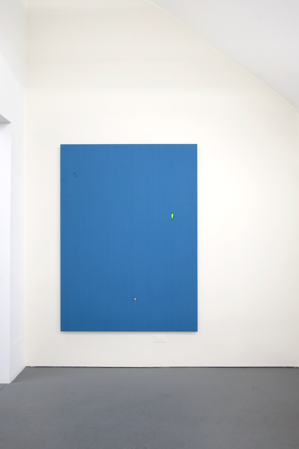 Paul Cowan   Untitled  2012 Cypress oil in latex paint  Dimensions variable PC015