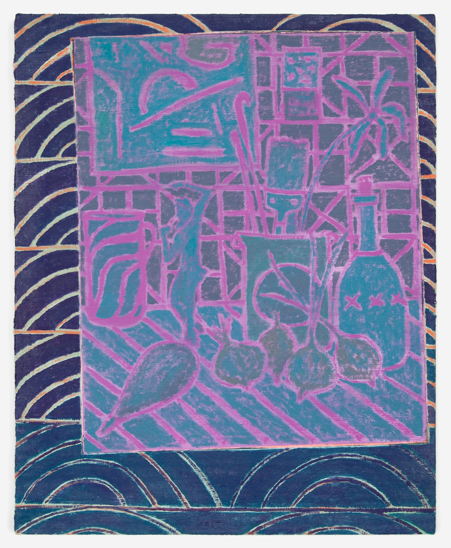 John McAllister  Some Celestial Serenade  2012 Oil on canvas 21h x 17w in JMC004