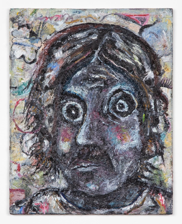Ellen Gronemeyer  Back in a Minute  2011 Oil on canvasboard 11 ¾h x 9 ¼w in EG003