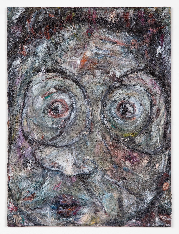 Ellen Gronemeyer  Arti Chock  2011 Oil on canvasboard 15 ¾h x 11 ¾w in EG004