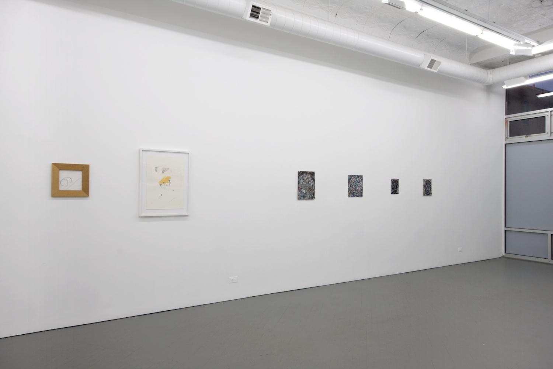 Verena Dengler, Ellen Gronemeyer, Helena Huneke, Alex Olson 2012 Shane Campbell Gallery, Chicago Installation View