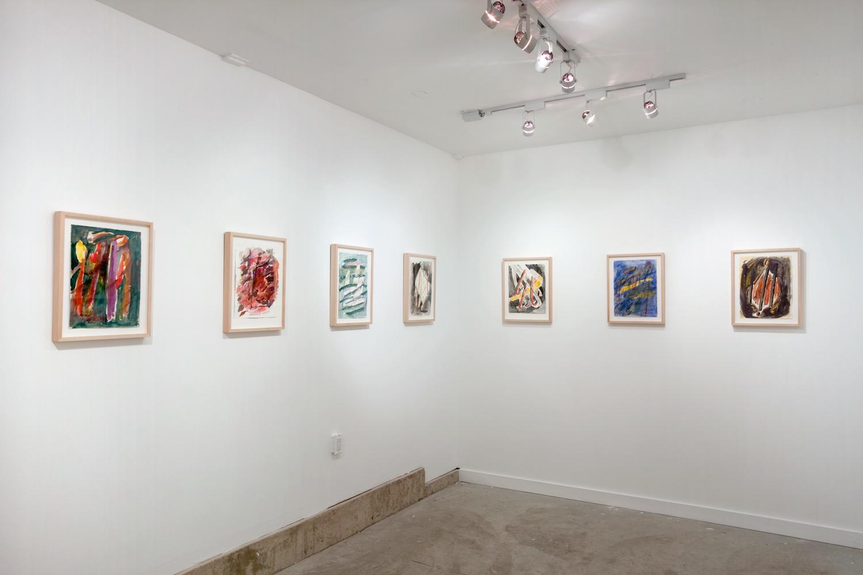 Jon Pestoni Works on Paper 2012 Shane Campbell Gallery, Oak Park Installation View