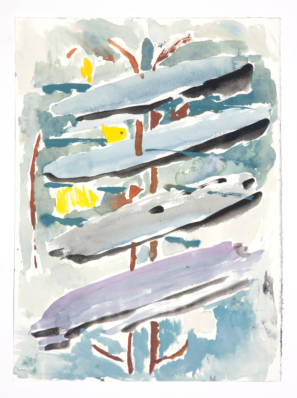 Jon Pestoni  Untitled  2009 Gouache on paper 15h x 11w in JP079