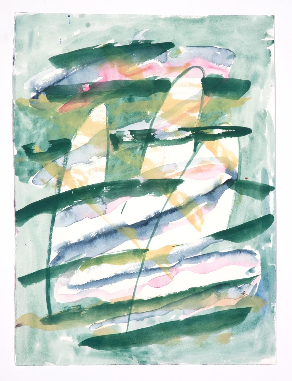 Jon Pestoni  Untitled  2009 Gouache on paper 15h x 11w in JP068
