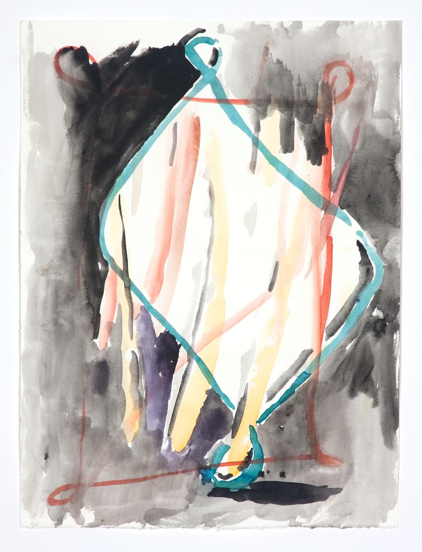 Jon Pestoni  Untitled  2009 Gouache on paper 15h x 11 ¼w in JP056