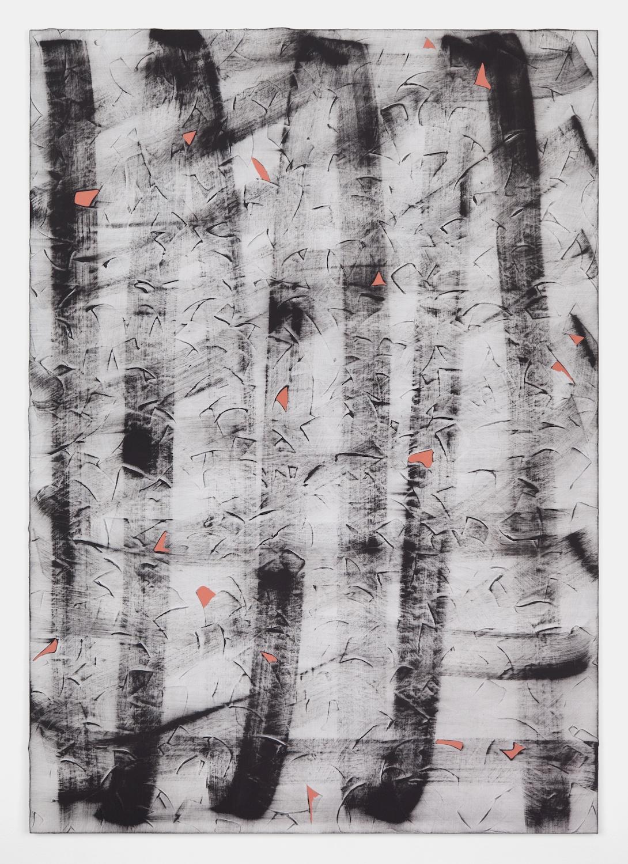 Alex Olson  Traverse  2012 Oil on linen 51 ¼h x 36 ¼w in AO089