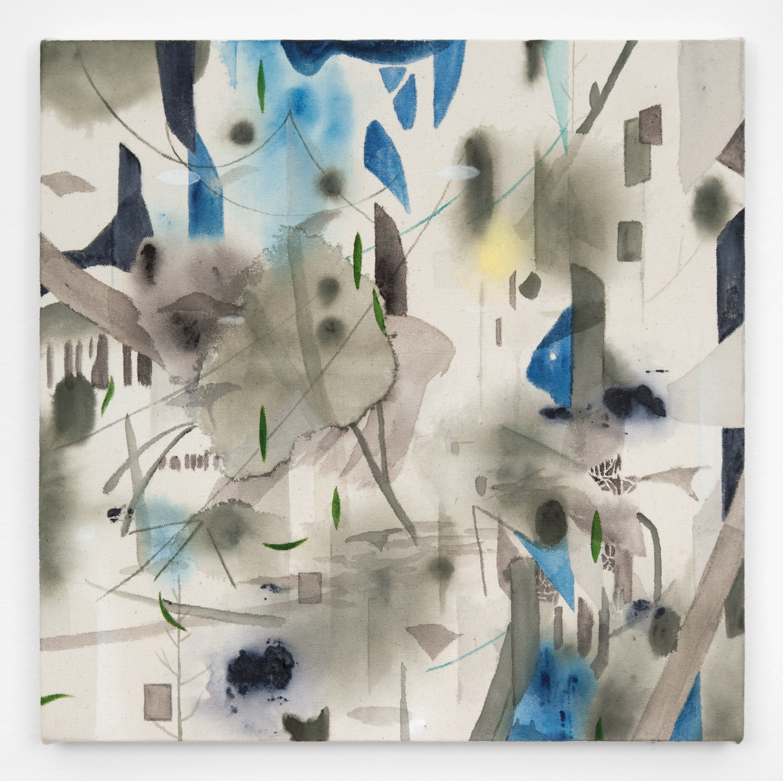Shinpei Kusanagi  my cold cove  2011 Acrylic on canvas 16 ⅖h x 16 ⅖w in ShinKu001