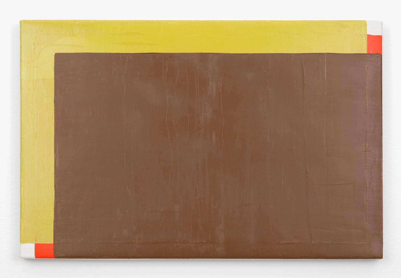 Yui Yaegashi  OGU-knife  2011 Oil on canvas 8 ¾h x 13 ⅛w in YY005