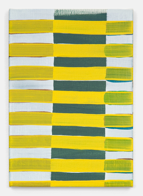 Yui Yaegashi  untitled  2011 Oil on canvas 10 ¾h x 7 ½w in Y004