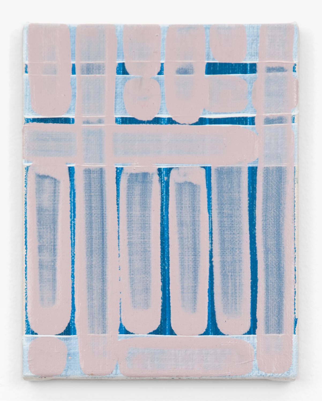 Yui Yaegashi  note  2011 Oil on canvas 7 ⅛h x 5 ½w in YY001