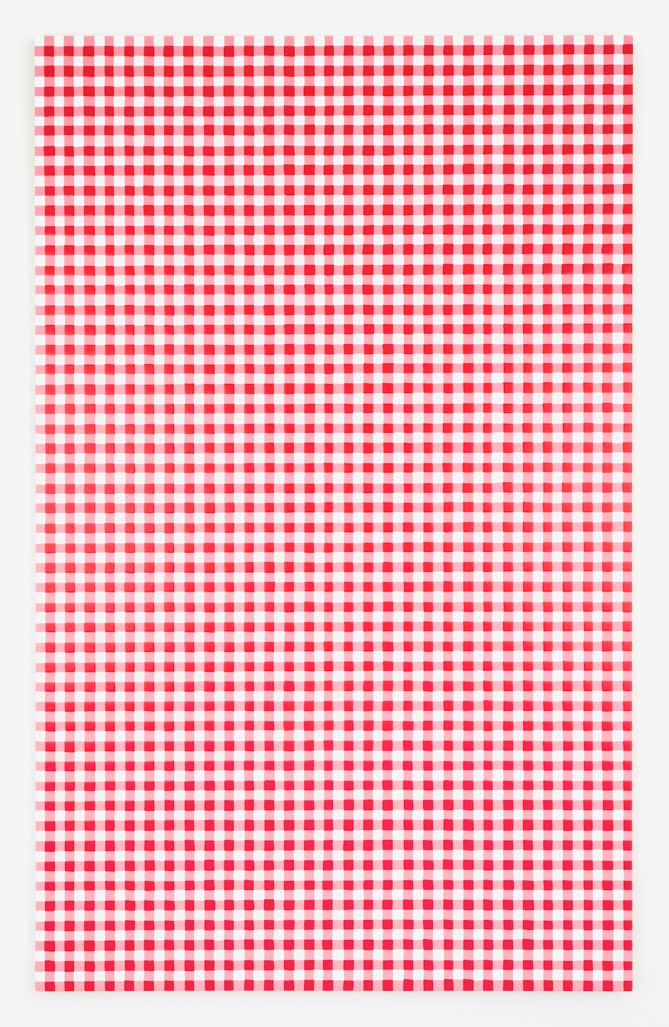 Michelle Grabner  Untitled  2012 Acrylic on panel 48h x 30w in MGrab257