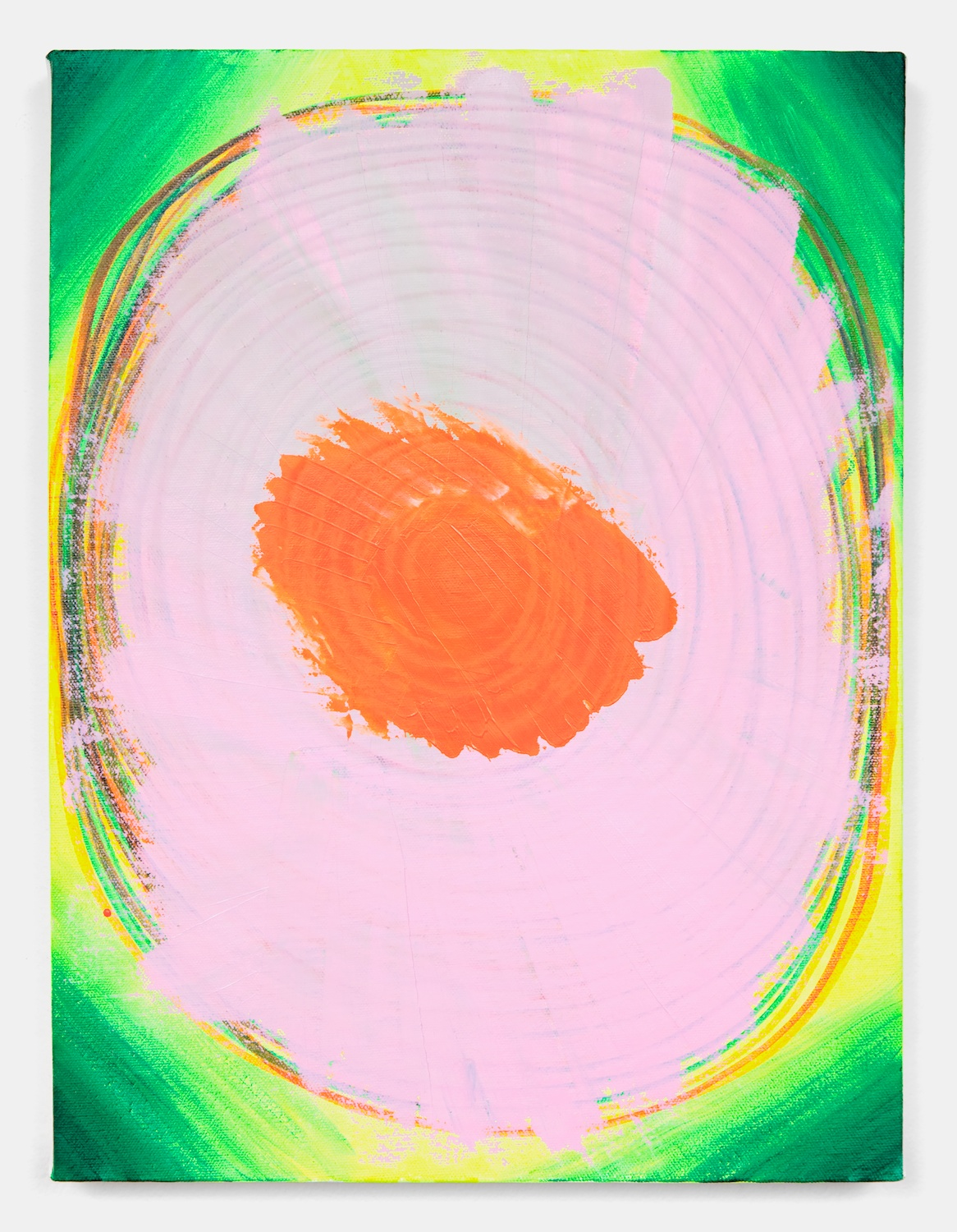Joanne Greenbaum  Untitled  2011 Oil, acrylic and mixed media on linen 16h x 12w in JG053