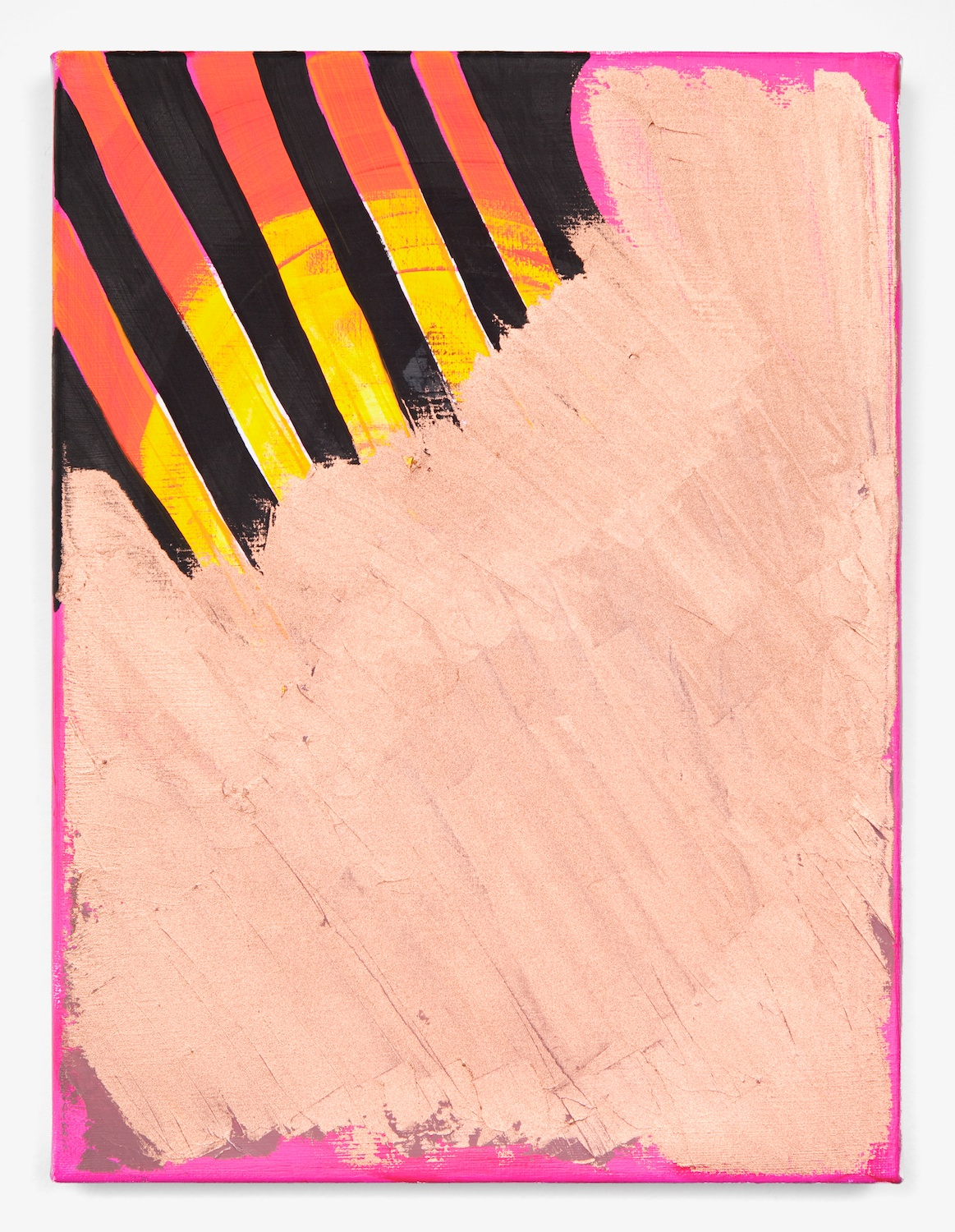 Joanne Greenbaum  Untitled  2011 Oil, acrylic and mixed media on linen 16h x 12w in JG038