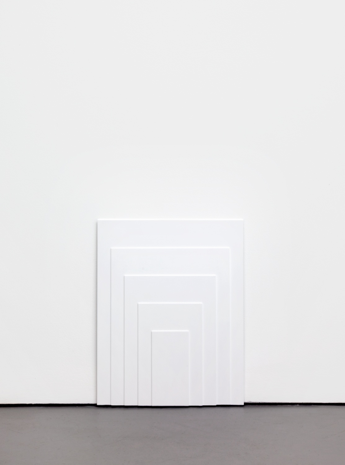 Lisa Williamson  Low Doorways  2011 Acrylic on steel 20 ½h x 16w in LW083