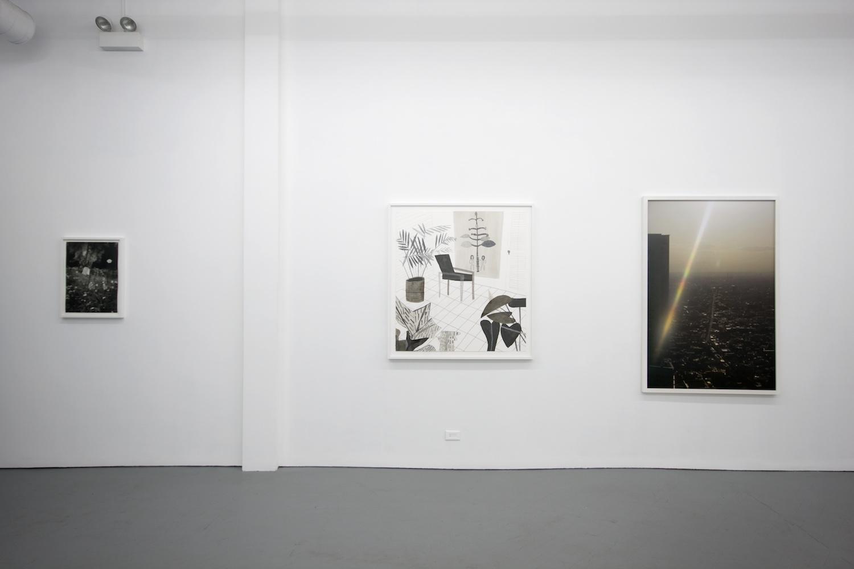 Roe Ethridge, Margarete Jakschik, Jonas Wood 2011 Shane Campbell Gallery, Chicago Installation View