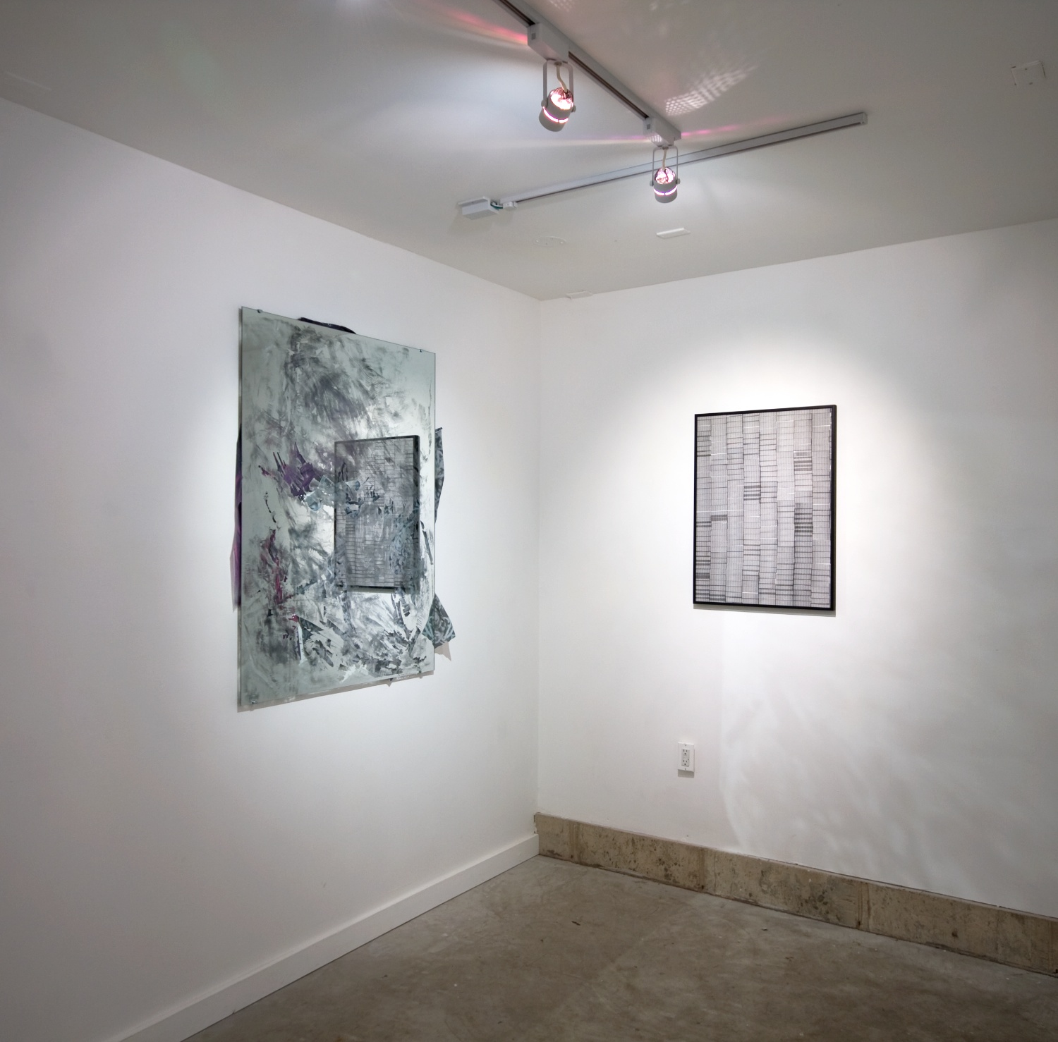 Zak Kitnick and Valerie Snobeck 2011 Shane Campbell Gallery, Oak Park Installation View