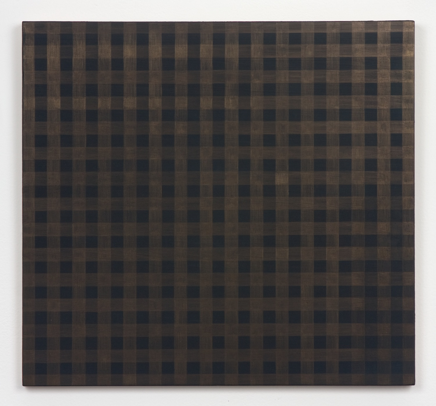 Michelle Grabner  Untitled  2010 Gold and gesso on panel 15 ½h x 14 ½w in MGrab177