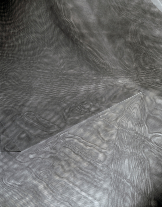 Barbara Kasten  Phantom Lines 20  2007 Archival pigment print 16h x 12 ¾w in BK004