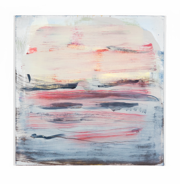 Jon Pestoni  Untitled  2010 Oil on canvas 24h x 24w in JP031
