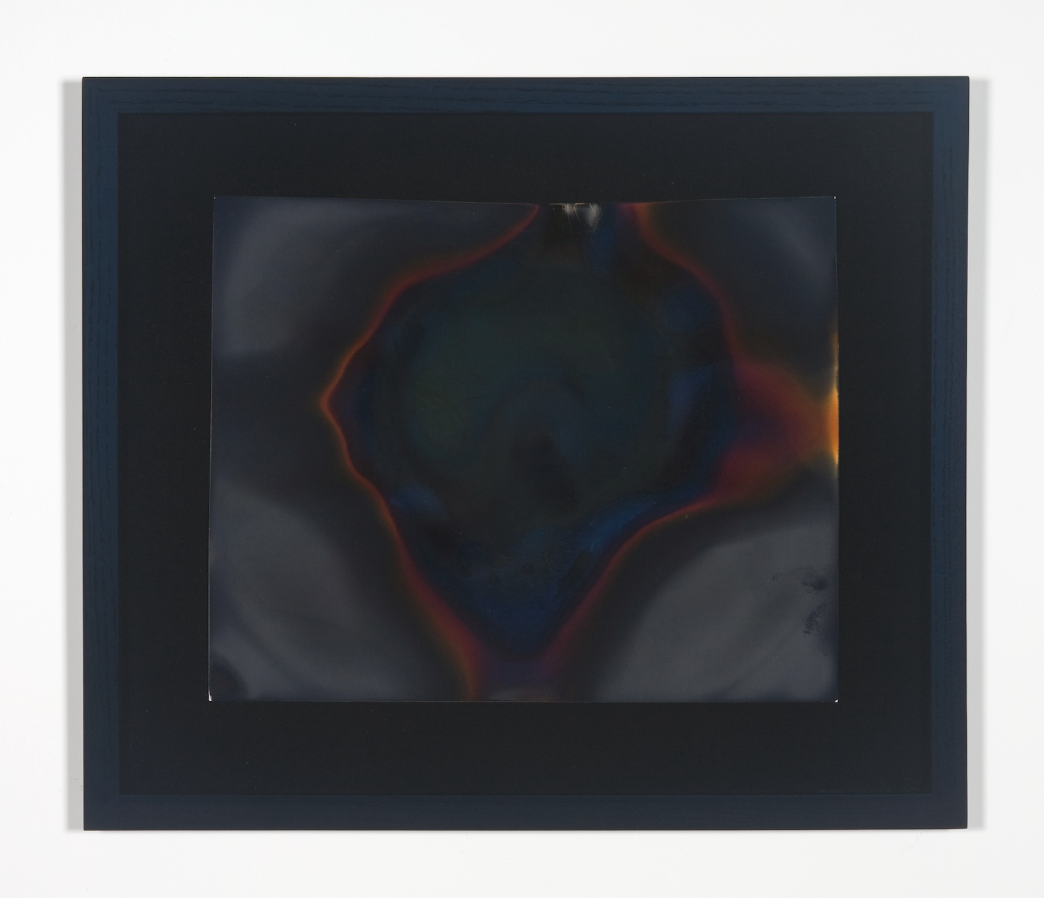 Shane Huffman  Looking for Cosmic Background Radiation in My Microwave  2008-2009 Framed silver gelatin print 14h x 11w in