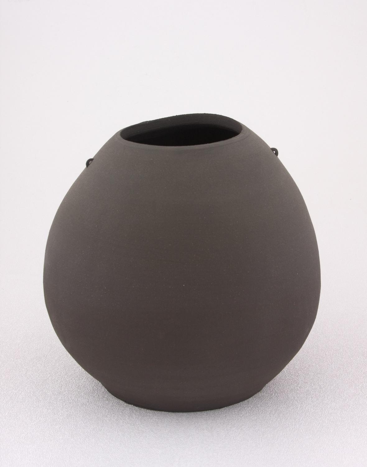 Shio Kusaka  Untitled (mini handle 1)  2005 Stoneware 6h x 7w in SK066