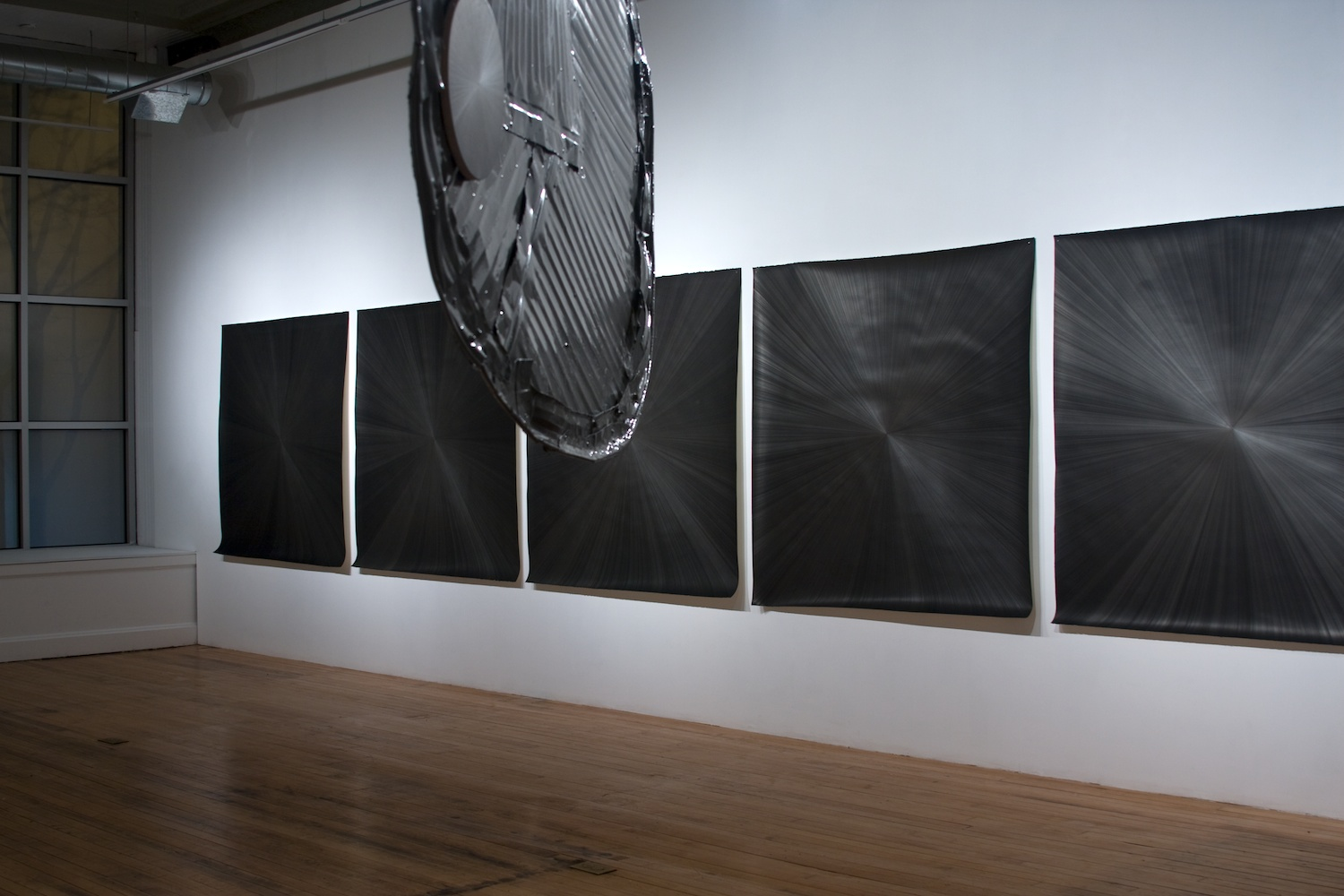 Michelle Grabner Silverpoints Shane Campbell Gallery, Chicago 2009 nstallation View