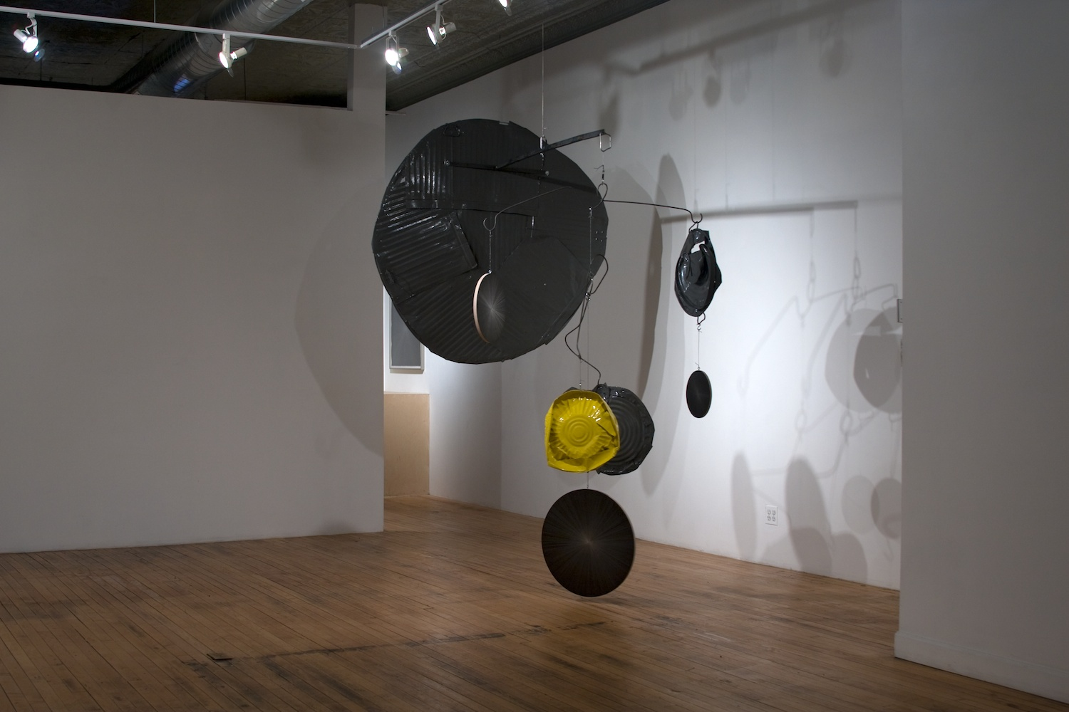 Michelle Grabner Silverpoints Shane Campbell Gallery, Chicago 2009 Installation View