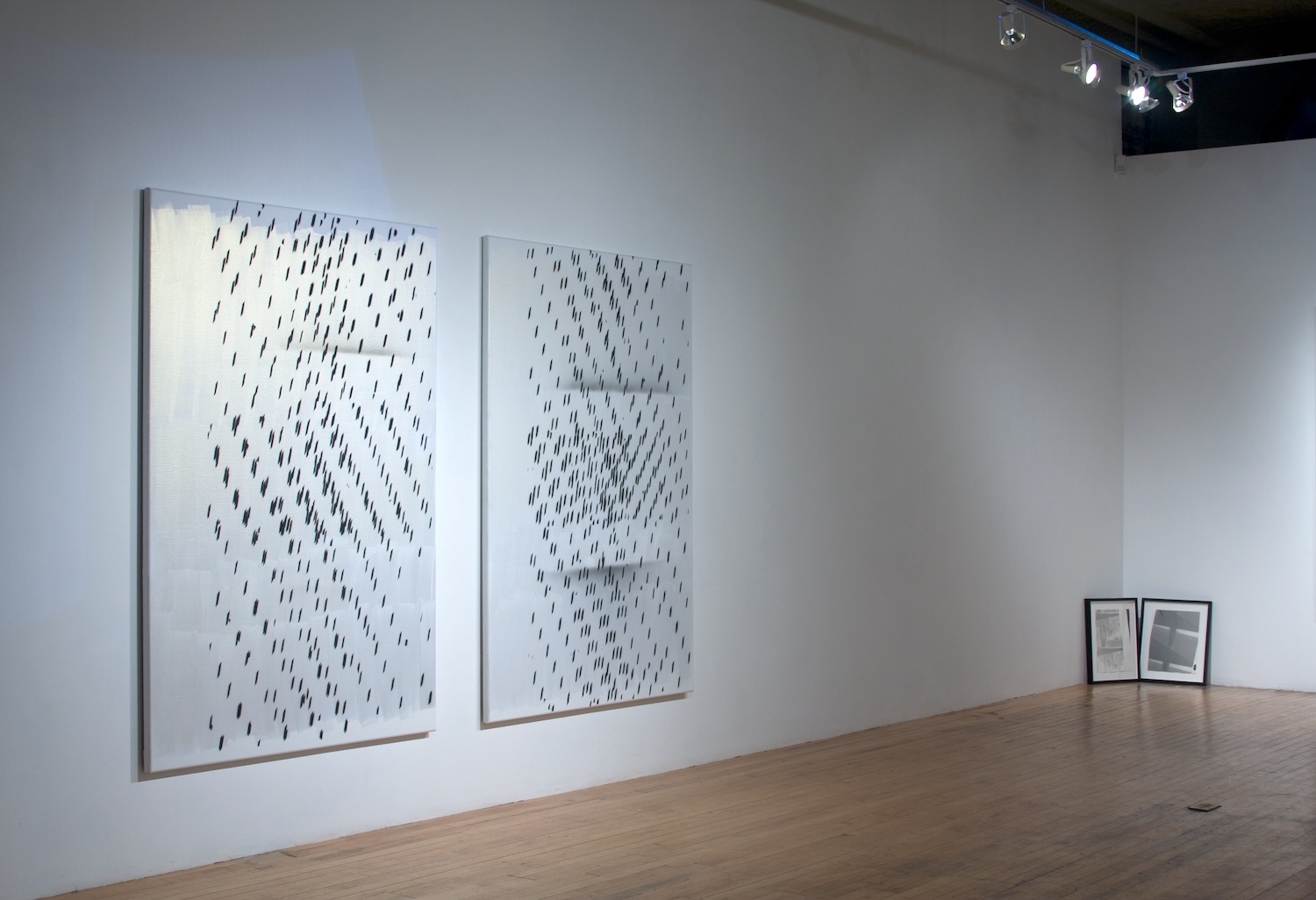 Amy Granat, Nathan Hylden, Meredyth Sparks 2008 Shane Campbell Gallery, Chicago Installation View