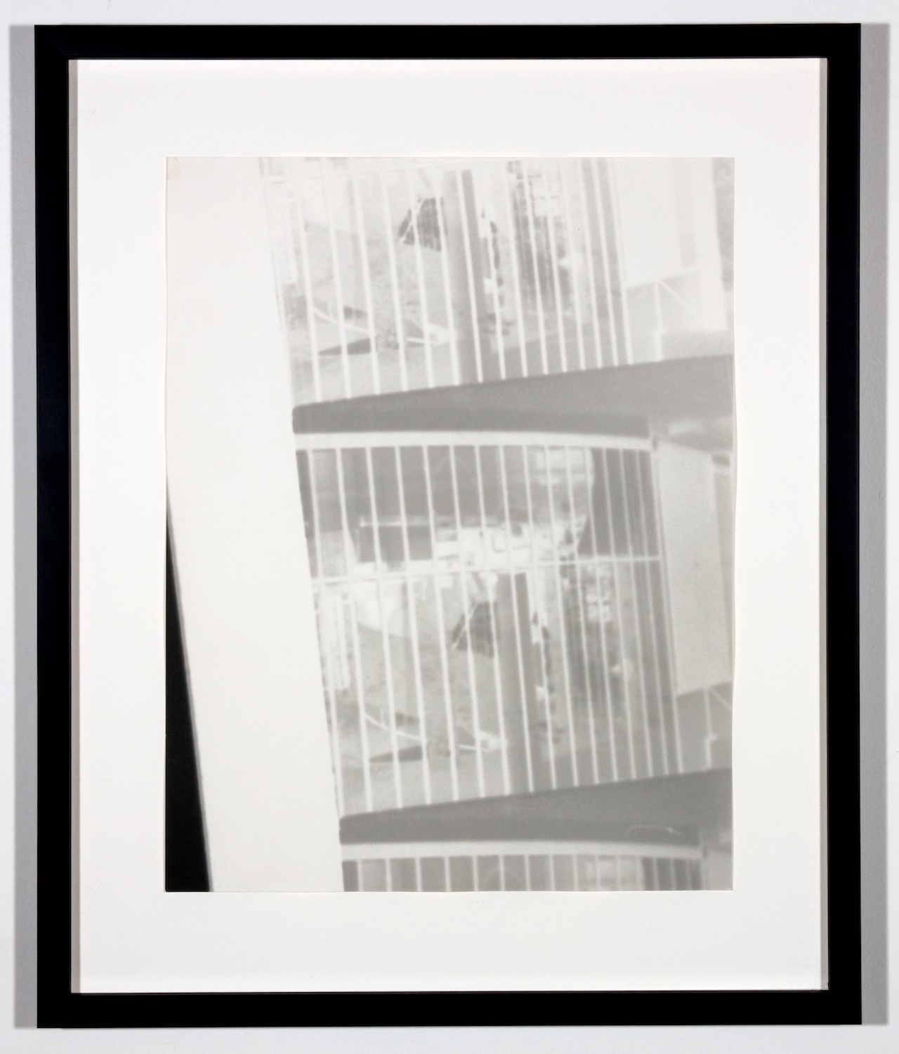 Amy Granat  Corbusier #3  2006 Silver gelatin photograph 19h x 16w in AG003
